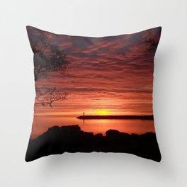 Sunrise Georgian Bay - Home Decor. Throw Pillow