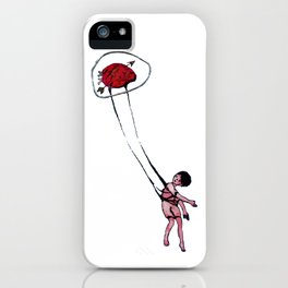 my sight looked back iPhone Case