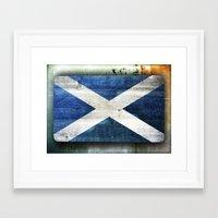 scotland Framed Art Prints featuring Scotland by Arken25