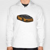 lamborghini Hoodies featuring Lamborghini Huracan by IrvSim