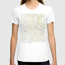 MO Jefferson City 325370 1982 topographic map T-shirt