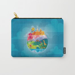 Small World Carry-All Pouch