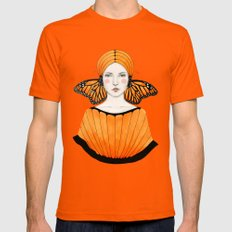 Anais Mens Fitted Tee Orange LARGE