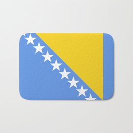 Flag of Bosnia and Herzegovina Bath Mat
