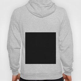 Color Block-Black and White Hoody