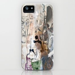 Becoming Human with First Cup iPhone Case