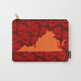 Virginia - VT Love - Maroon Carry-All Pouch