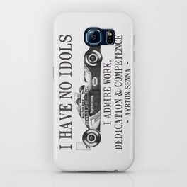 I Have No Idols - Senna Quote iPhone Case