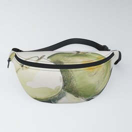 A Pair of Green Apples Fanny Pack