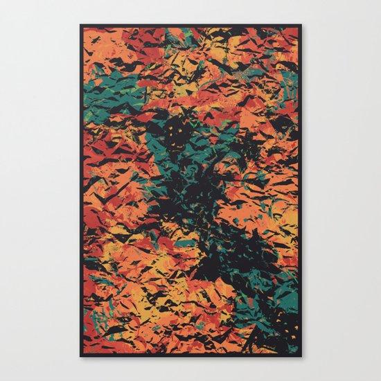 NEVER AGAIN Canvas Print