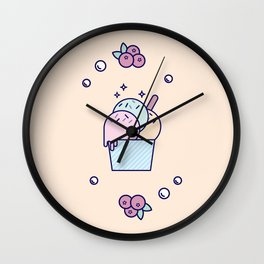 Ice Cream (Cup) Wall Clock