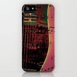PINK GUITARS iPhone Case