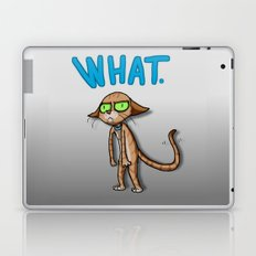 WHAT cat Laptop & iPad Skin