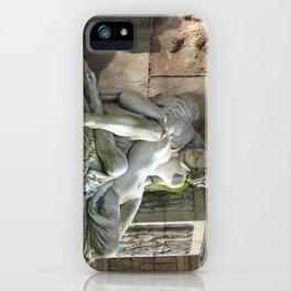 Medici Fountain Lovers - Acis and Galatea iPhone Case
