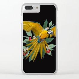 Ara Ararauna Clear iPhone Case