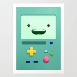 BMO - Adventure Timee Kunstdrucke