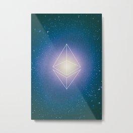 Ethereum Poster Metal Print
