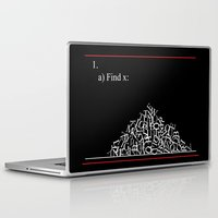 math Laptop & iPad Skins featuring Math Problem by Tink.hr