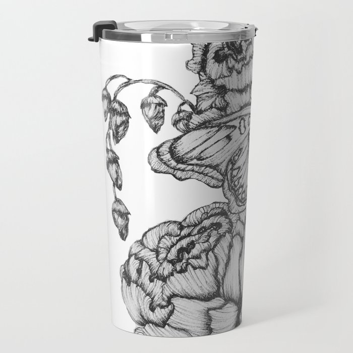 Fluttering Ink II Travel Mug