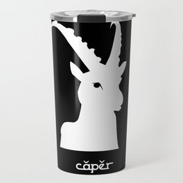 Capricorn ~ Caper ~ Zodiac series Travel Mug