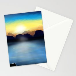 Under A Painted Sky Stationery Cards