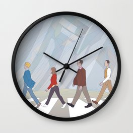 Inception Road Wall Clock