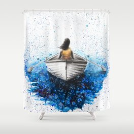 Finding Me Shower Curtain