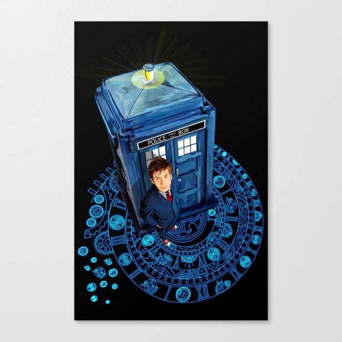 Doctor who at Arch of time Zone iPhone 4 4s 5 5c 6, pillow case, mugs and tshirt Canvas Print
