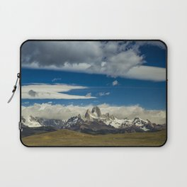 Fitz Roy in a summer day Laptop Sleeve