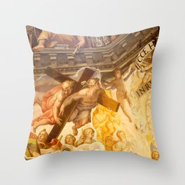 Brunelleschi Cupola in Florence Throw Pillow
