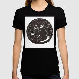 Moth Circle T-shirt