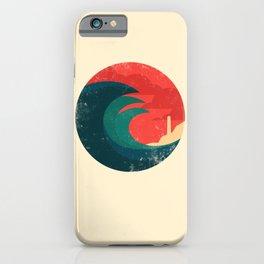 The wild ocean iPhone Case