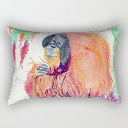 orang Rectangular Pillow