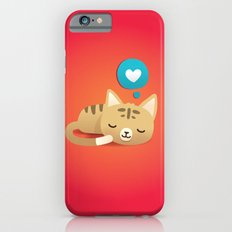 Sleeping Cat Slim Case iPhone 6s