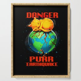 Purr Earthquake Serving Tray