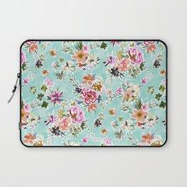 WILD LOVE Pretty Floral Laptop Sleeve