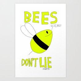 Bees Don't Lie - Jupiter Ascending Art Print