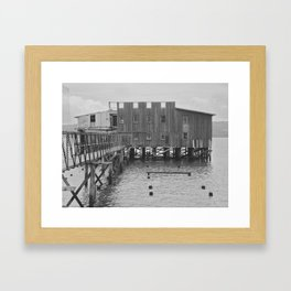 Abandoned Cannery Framed Art Print