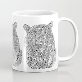 The power of the tiger Coffee Mug