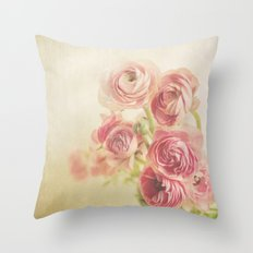 Beauty in a vase.... Throw Pillow