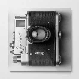 Camera style Metal Print