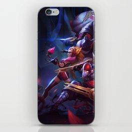 SKT T1 Vayne Jax Zyra Zed Lee Sin Splash Art Wallpaper Official Artwork League of Legends lol iPhone Skin