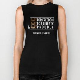 Fart for Freedom Biker Tank