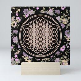 This Is Sempi-floral Mini Art Print