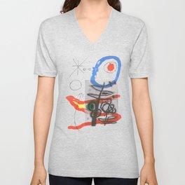 Joan Miro - Peintures Sur Cartons II Unisex V-Neck