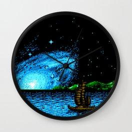 Shangai Voyage Dreams Wall Clock