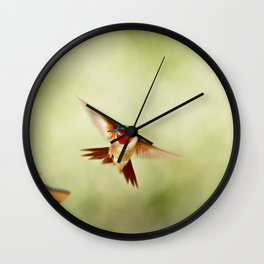 The Hummingbird Wall Clock
