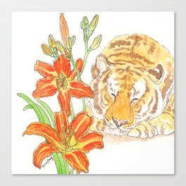 Tiger's Lily Dream Canvas Print