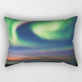 The Northern Lights 02 Rectangular Pillow