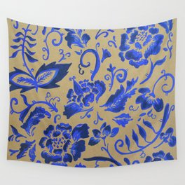 Blue Dreams Wall Tapestry